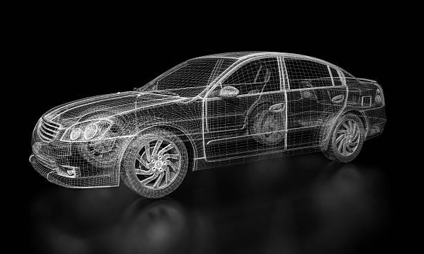 Modélisation 3D voiture - Photo