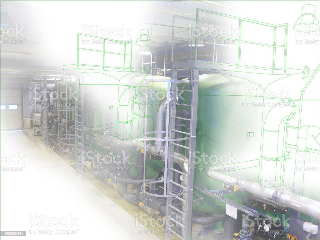 와이어 프레임 컴퓨터 산업 cad 디자인 컨셉 이미지 - 로열티 프리 가리키기 스톡 사진