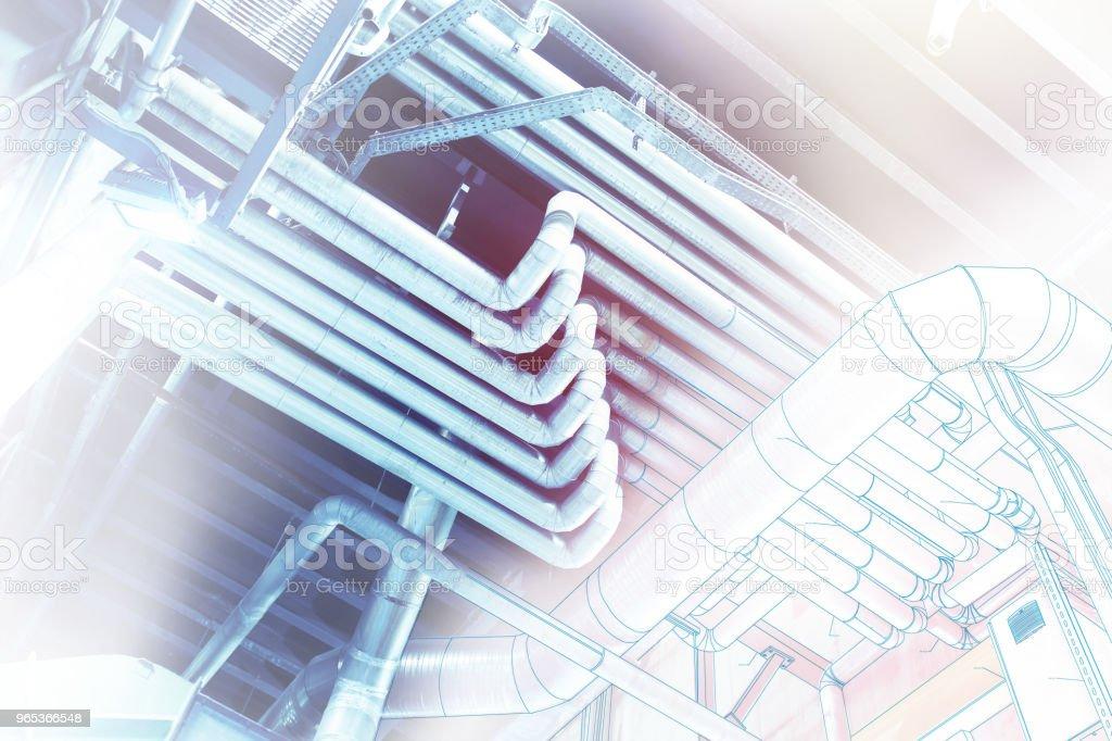 fil de fer ordinateur industriel CAO design concept image - Photo de Affaires libre de droits
