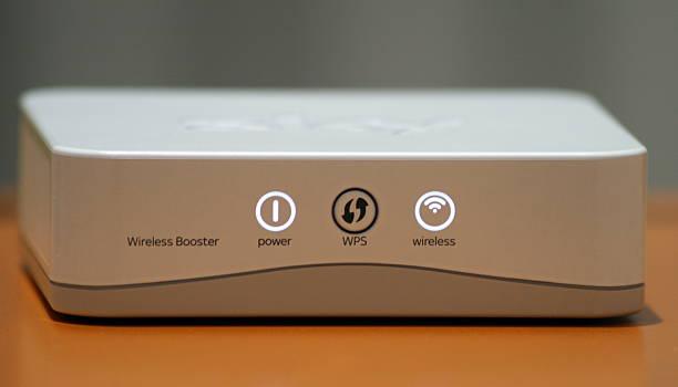 W-LAN-Booster richtig WiFi Breitband-internet signal wie zu Hause fühlen. – Foto