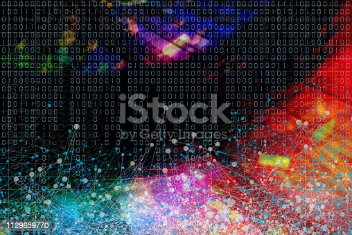 istock Wireless Communication Network Background 1129659770