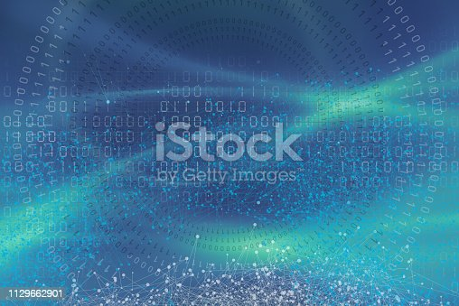 istock Wireless Communication Network Background 1129662901