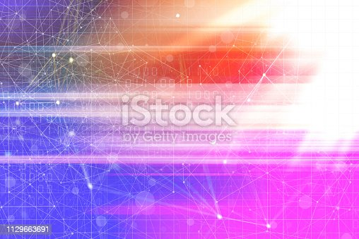 istock Wireless Communication Network Background 1129663691