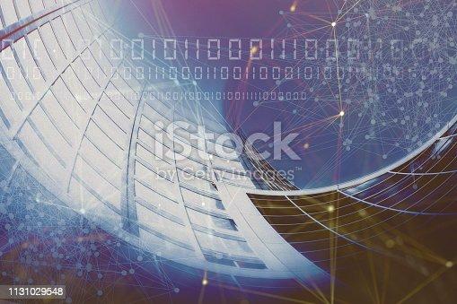 186827106 istock photo Wireless Communication Network Background 1131029548