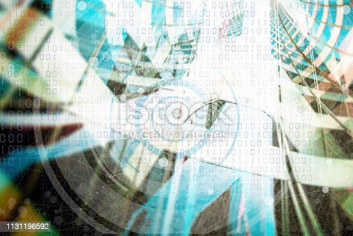 186827106 istock photo Wireless Communication Network Background 1131196592