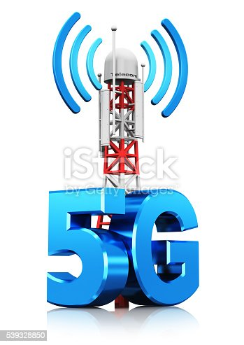 istock 5G wireless communication technology concept 539328850