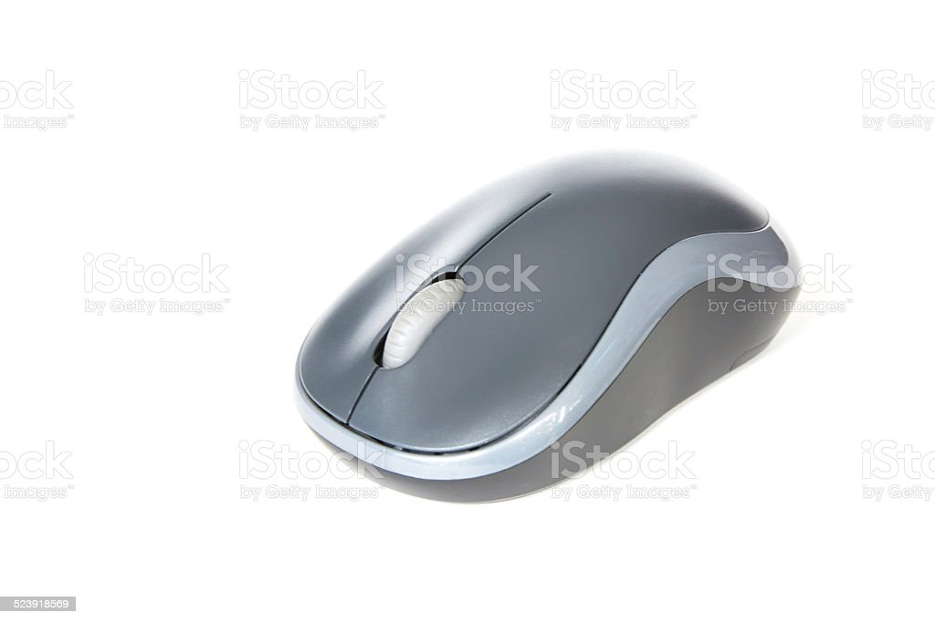 f1afc6d9119 Wireless computer mouse isolated on white background royalty-free stock  photo