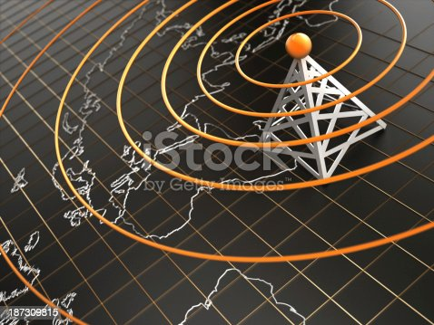 istock Wireless connection 187309815