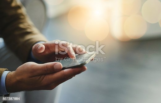 istock Wireless is the way to go 857387884