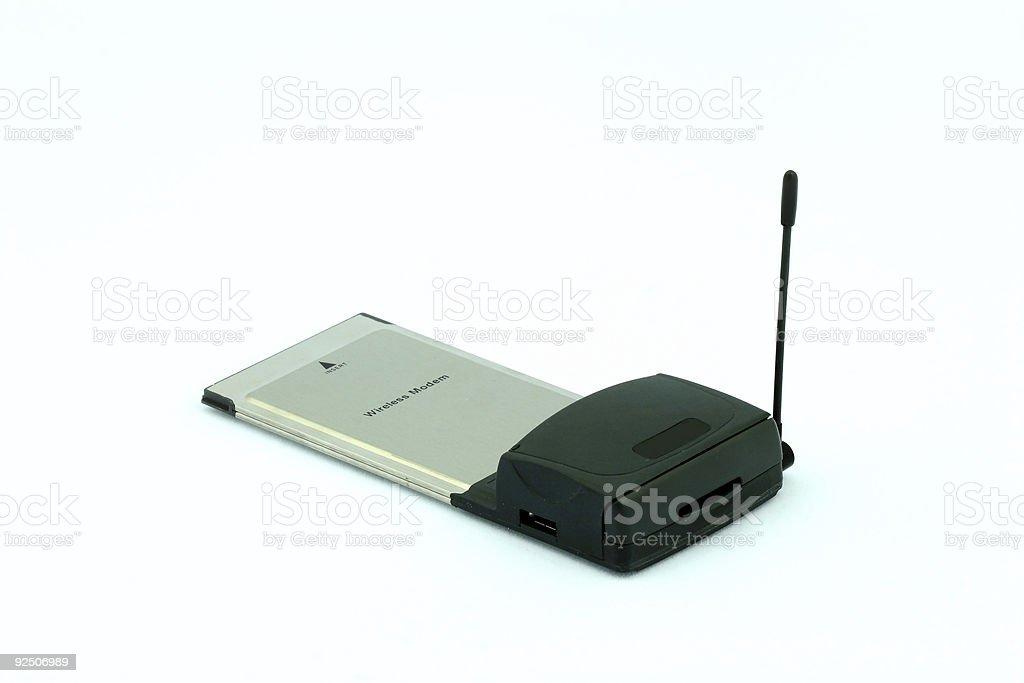 Wireless Modem royalty-free stock photo