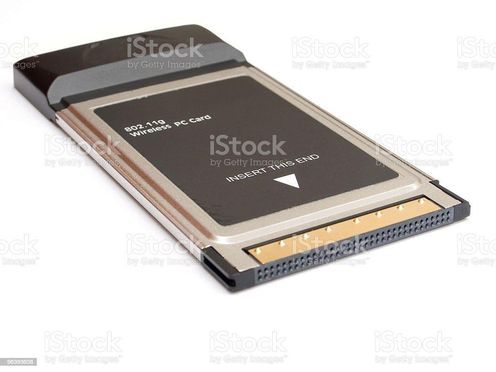 ワイヤレスネットワーク PC カード - つながりのロイヤリティフリーストックフォト