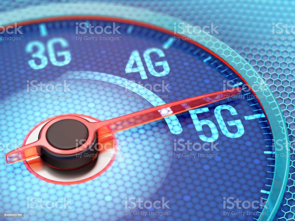 5G wireless network - Foto stock royalty-free di 3G