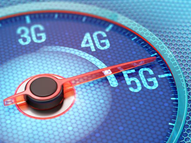 5g wireless network - 4g foto e immagini stock
