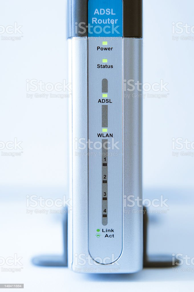 Wireless Networking and Security stock photo