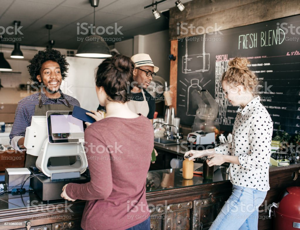 Wireless payment stock photo