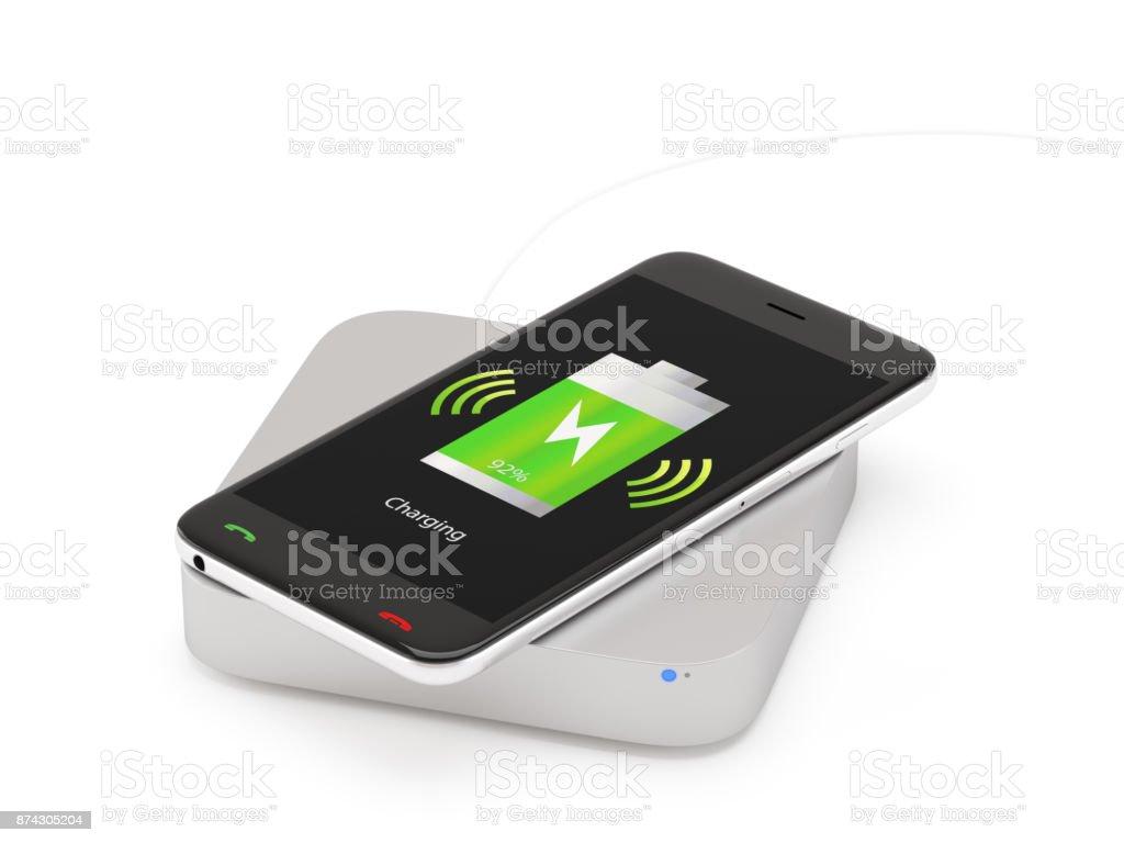Drahtlose Handy-Ladegerät – Foto