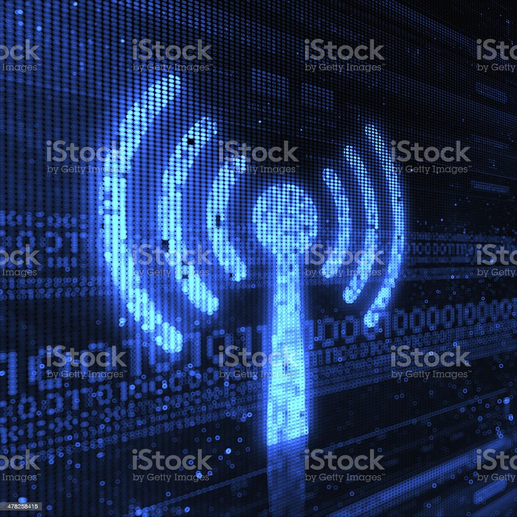 Wireless stock photo