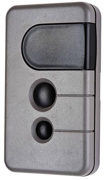 Wireless Remote Garage Door Opener Transmitter stock photo