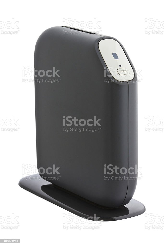 Wireless router royalty-free stock photo