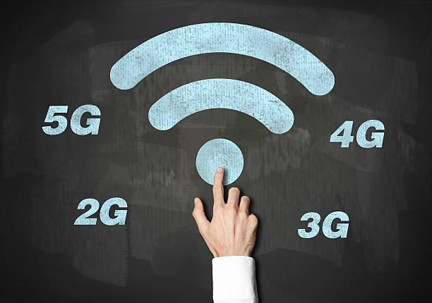 tecnologia wireless/lavagna concetto (cliccate per ulteriori informazioni - 4g foto e immagini stock