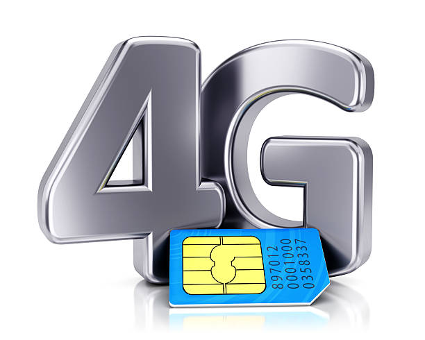 concetto di tecnologia wireless - 4g foto e immagini stock