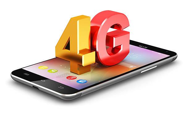 4 g lte concetto di tecnologia wireless - 4g foto e immagini stock