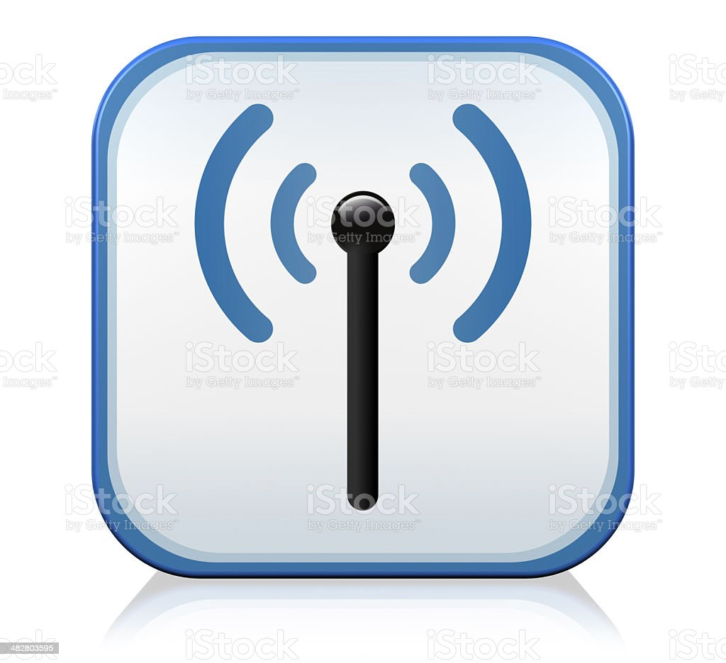 Wireless technology Icon royalty-free stock photo