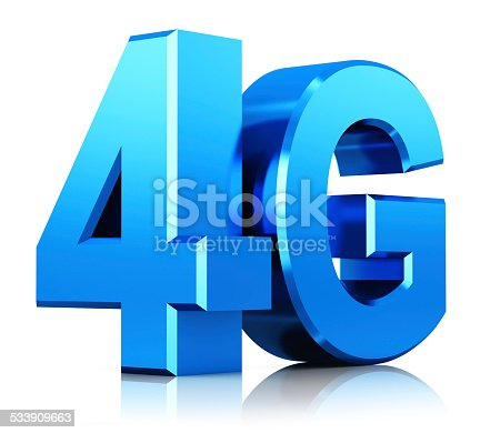 istock 4G LTE wireless technology logo 533909663