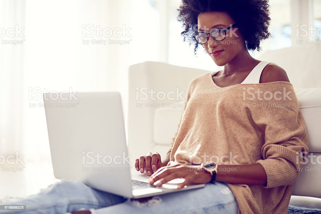 Wireless technology making it easier to relax wherever whenever stock photo