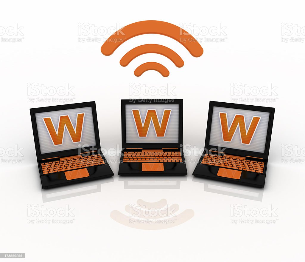 wireless technology royalty-free stock photo