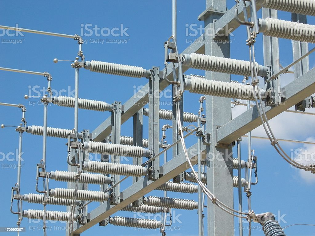 Wires and Coils royalty-free stock photo