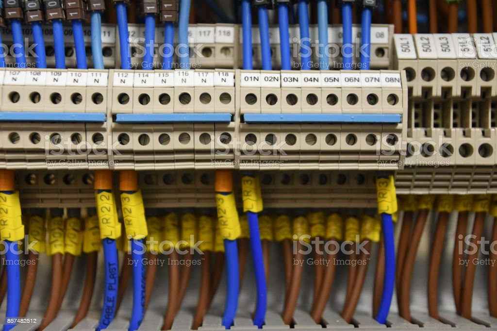 wires and industrial electrical control panel stock photo more rh istockphoto com