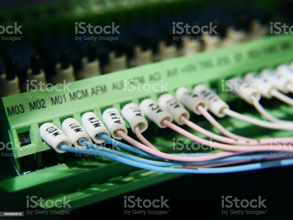 Wires And Industrial Electrical Stock Photo More Pictures Of 2015 Electronic Wiring Royalty Free