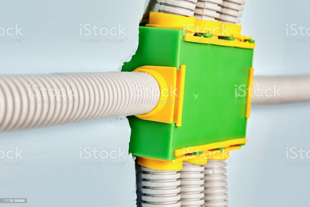 Wiring Box For Electrical House Stock Photo Download Image Now Istock
