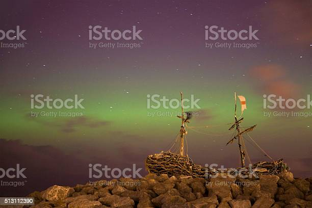 Wirral Aurora Stock Photo - Download Image Now