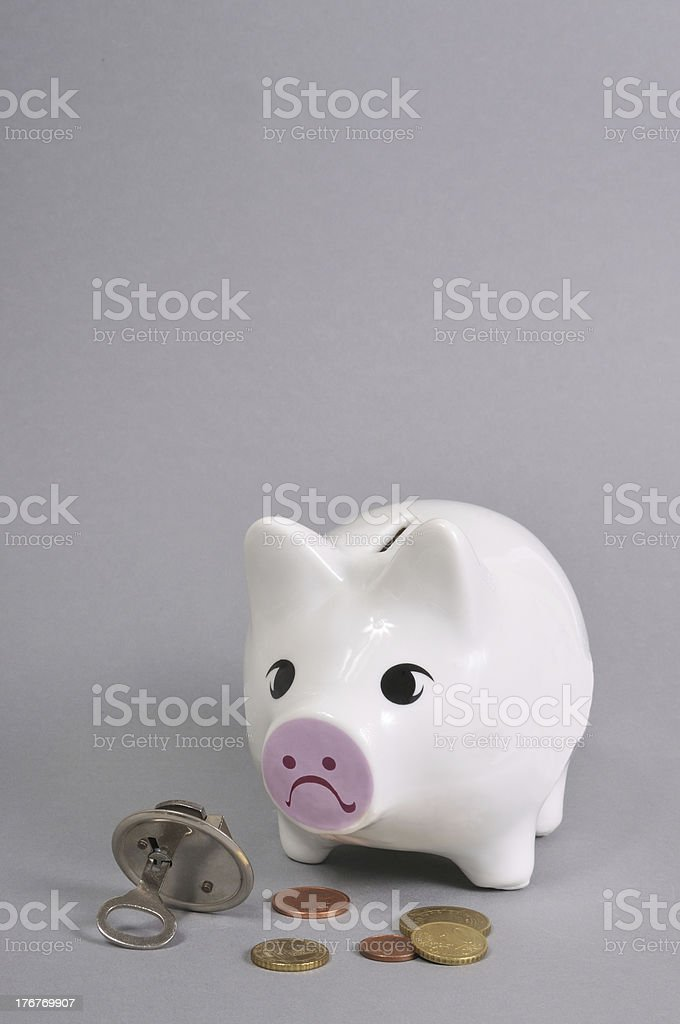 Wirtschaftskrise royalty-free stock photo