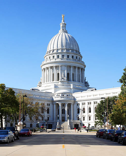 Wisconsin State Capitol II stock photo