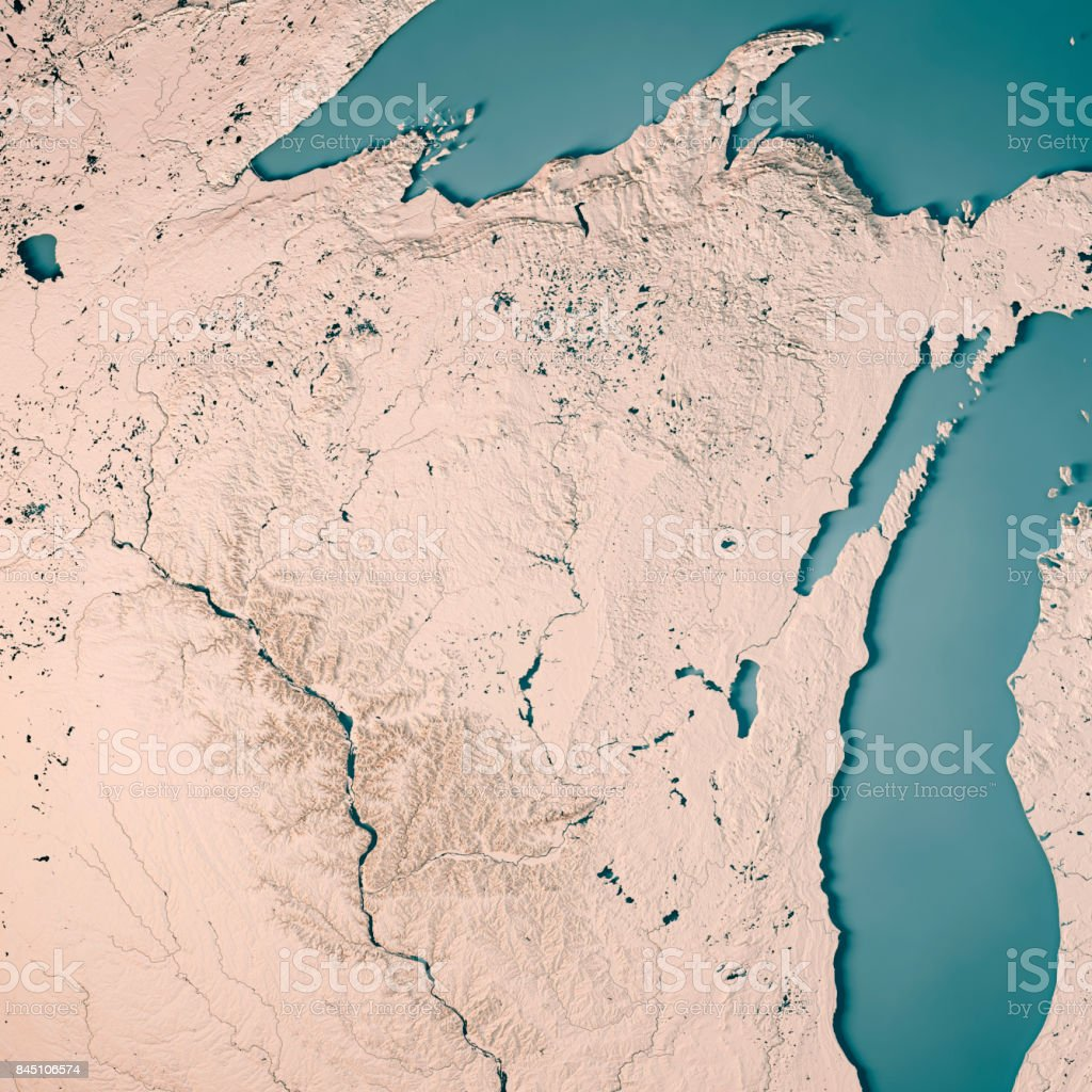 Wisconsin State Usa 3d Render Topographic Map Neutral Stock ... on satellite maps of maine, satellite maps of california, satellite maps of united states, satellite maps of alabama, satellite maps of wisconsin, satellite maps of new york, satellite maps of hawaii,