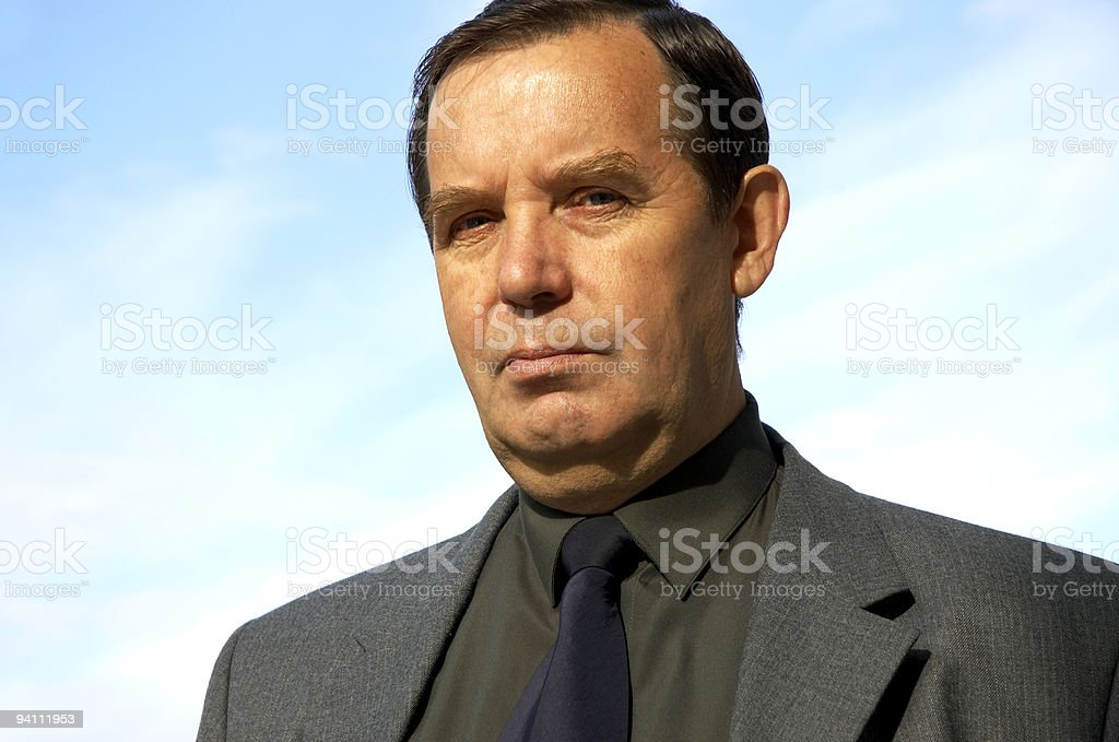 wise look royalty-free stock photo
