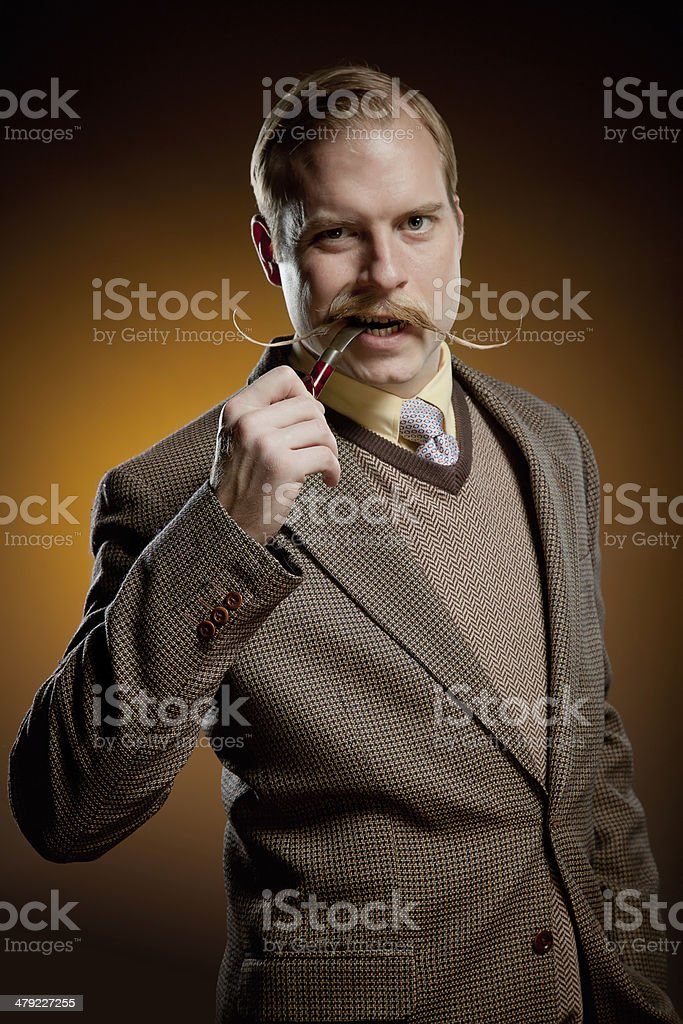 Wise Man stock photo