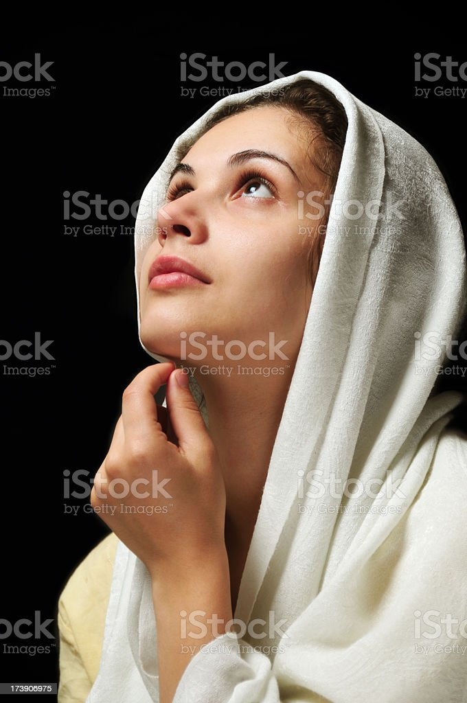Wish for God royalty-free stock photo
