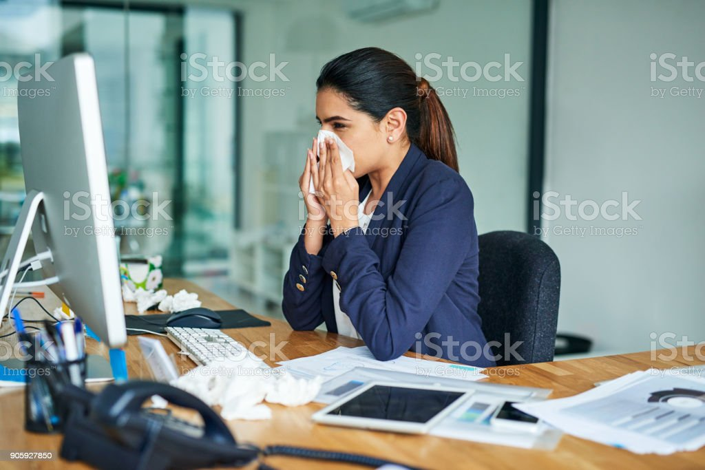 Wish I could just feel 100% again stock photo