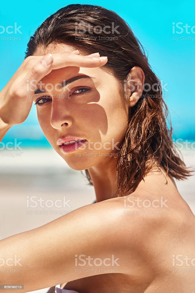 I wish it were summer all year long stock photo