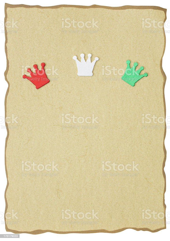wish list for the three magi royalty-free stock photo