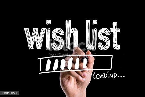 888342518istockphoto Wish List 830565532