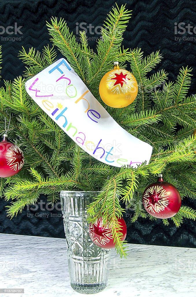 Auguri Buon Natale In Tedesco.Auguri Di Buon Natale In Tedesco Fotografie Stock E Altre Immagini Di Albero Istock