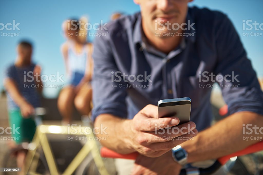 Wish she was here.... royalty-free stock photo