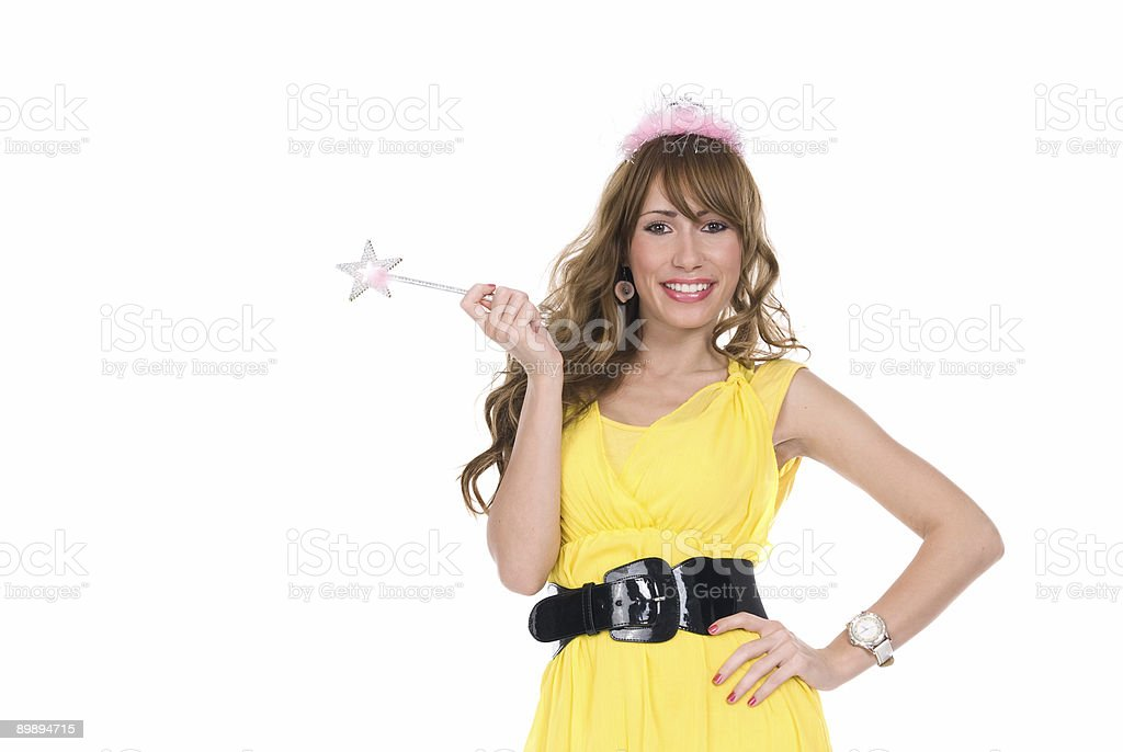 wishes fairy royalty-free stock photo