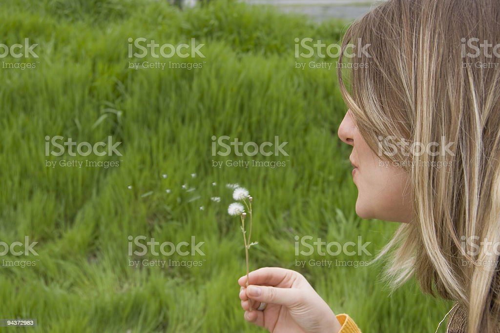Wishes... royalty-free stock photo