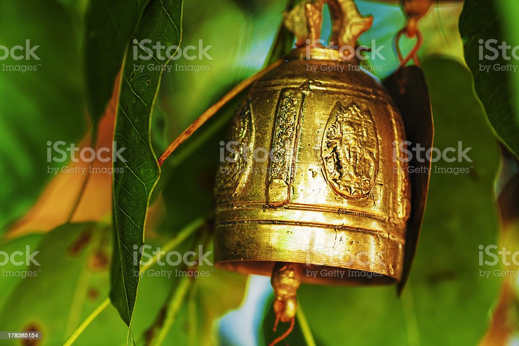 Wishing bell royalty-free stock photo
